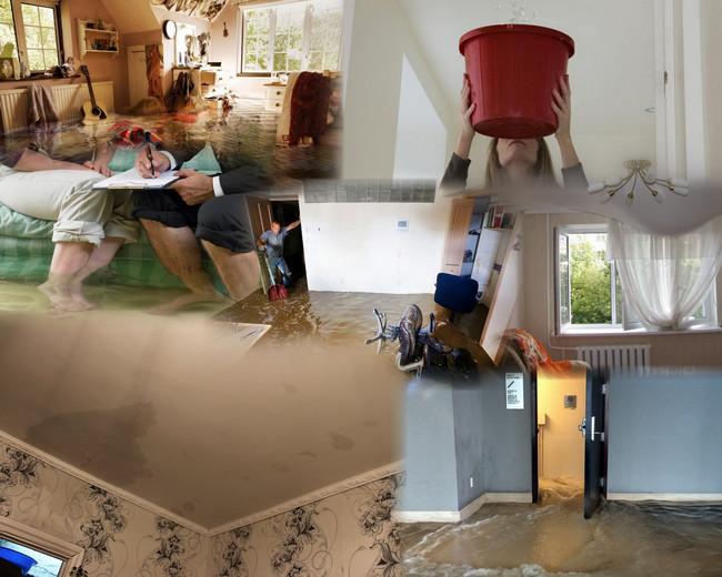 залило квартиру с крыши что делать