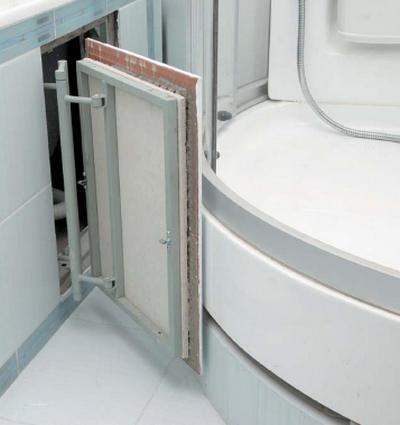 сантехнические дверьки для покраски размеры